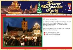 Website www.trierer-weihnachtsmarkt.de